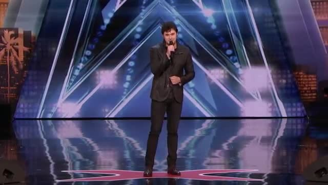 "Simon halts handsome singer to give ""Impossible"" challenge only to receive comeback that stuns room"