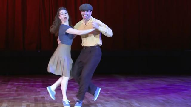 Dancing couple became the talk of the town when they performed