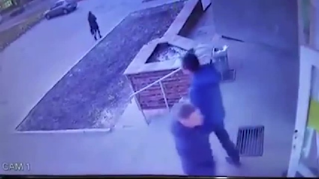 Camera Catches Violent Father Throwing 6-Year-Old Daughter Down The Stairs