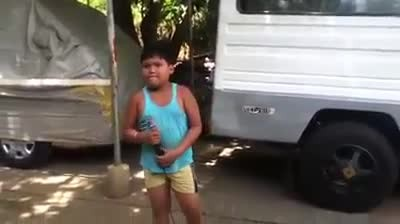Amazing Filipino boy sings Righteous Brother's 'Unchained Melody'