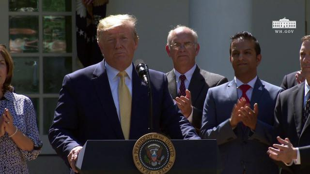 President Trump Speaks on Expanding Health Coverage Options for Small Businesses & Workers