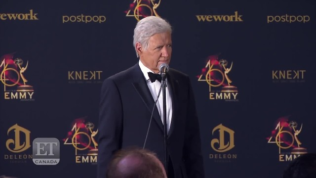 Alex Trebek wins sixth Emmy as his cancer battle continues