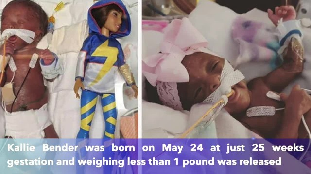 Arizona baby weighing less than 1 pound at birth released from hospital after nearly 150 days