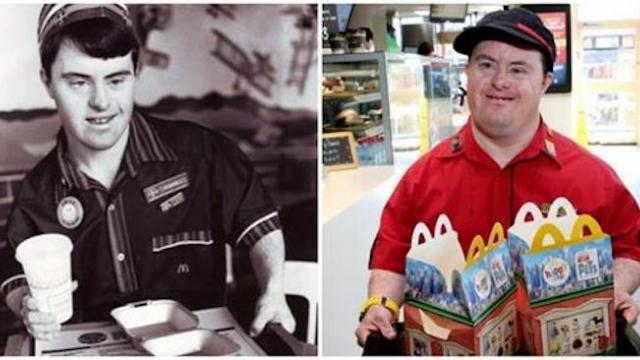 McDonald's employee with Down syndrome retires after 32 years
