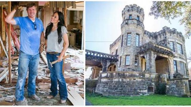 Chip and Joanna Gaines just bought a 129-year-old castle in Texas and plan to restore it