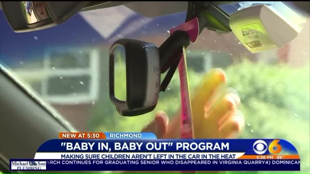After 4-month-old twins die from being left in hot car, teen creates car tag to save children