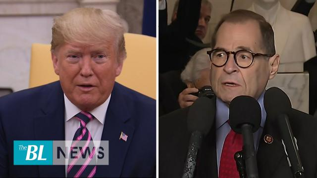 Trump says Dems trivializing impeachment welcomes Longer trial in the Senate