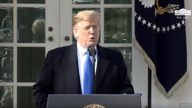 President Trump Speaks on the National Security & Humanitarian Crisis on Our Southern Border