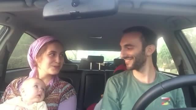 Baby Melts When Parents Start Singing In The Car - Rumble