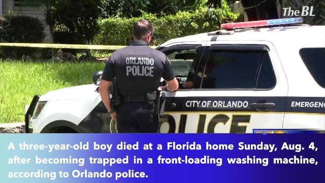 Three-year-old boy dies after becoming trapped in washing machine