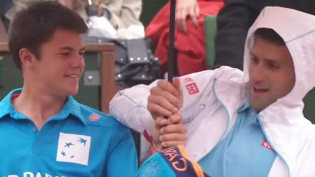 Best tennis player in the world shares moment with ball boy that has fans melting