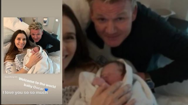 What A Cutie! Gordon Ramsey Melts Fans' Hearts With A Sweet Snap Of His Newborn Son Oscar And Reveal