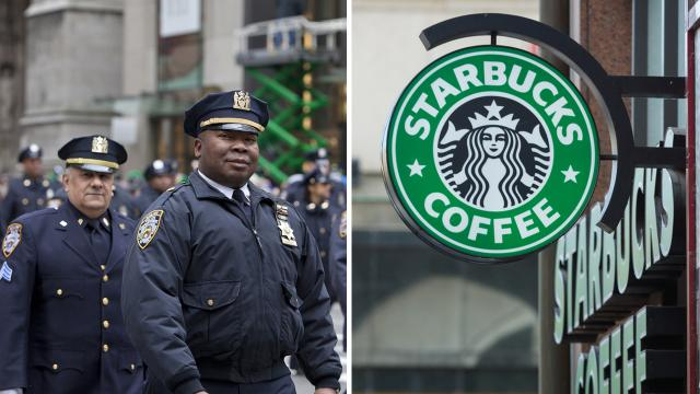 6 Police Officers asked to leave Starbucks