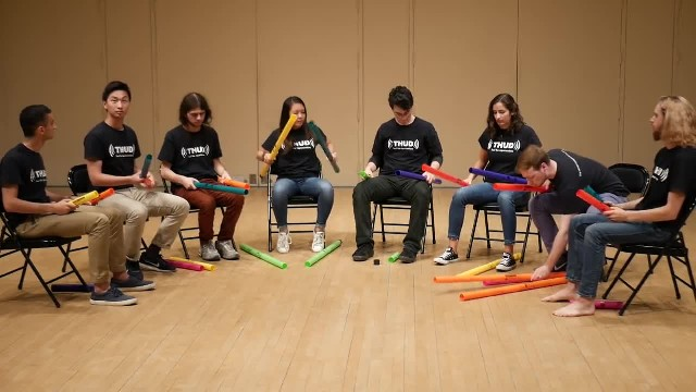 Don't Stop Believin' on Boomwhackers!