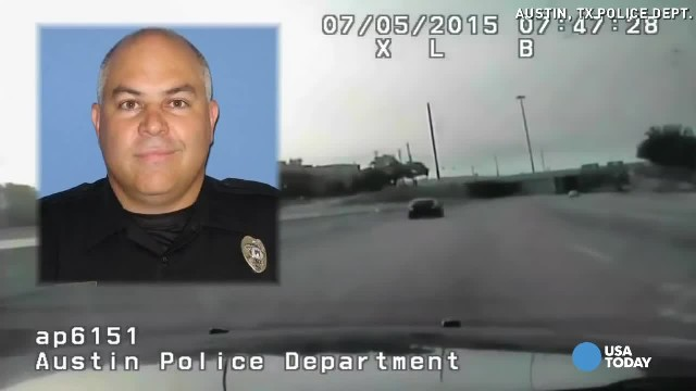 Cop saves choking woman in striking dashcam video