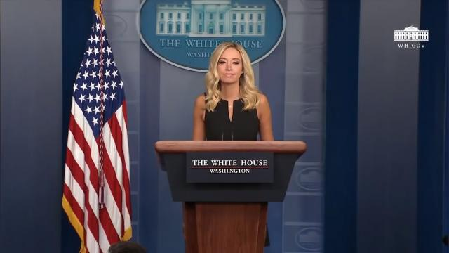 09/22/20  Press secretary McEnany hold a press briefing
