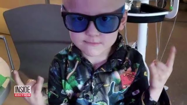 5-Year-Old With Terminal Cancer Writes His Own Obituary For Parents To Find