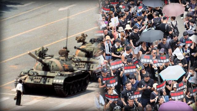 China's beginning collapse - Tiananmen Massacre and the power of crowds