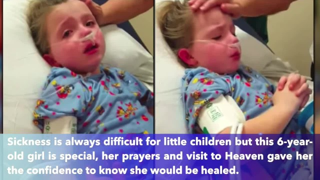 Heartwrenching Video Of Sick Little Girl Praying To Jesus Before She Is Healed