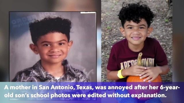 6-year-old's school photos edited without explanation, mother doubted because of race