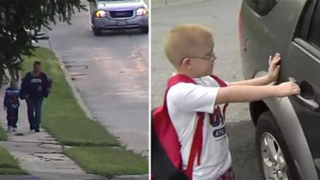 School bus refused to pick up this child Then a strange car stops