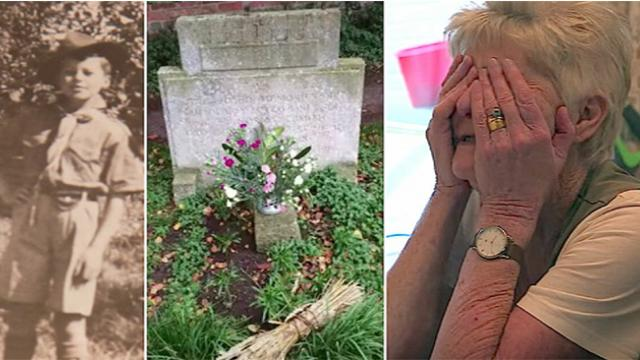 Mystery stranger visits dead boy's grave for over 70 years –