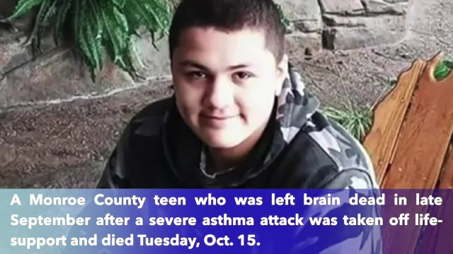14-year-old Bobby Reyes taken off life support after second test confirms brain death