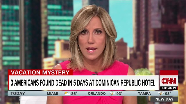 3 tourists die at Dominican Republic hotel within 5 days