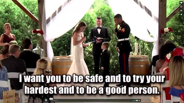 Stepmom Reads Wedding Vows To Her Future 4-Year-Old Son. Seconds Later, Boy Bursts Into Tears