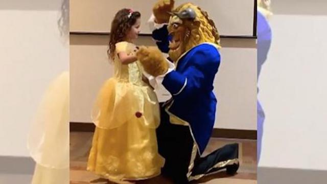 6-year-old dresses up for dance with 'beast,' but she doesn't