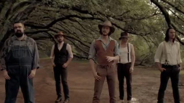 All-vocal band sings 105-year-old classic country tune, and it's better than ever