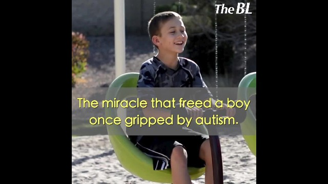 The miracle that freed a boy once gripped by autism.