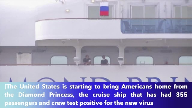 U.S. evacuating Americans stuck on quarantined cruise ship