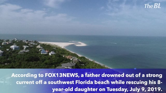 Dad drowns while rescuing daughter off Florida beach