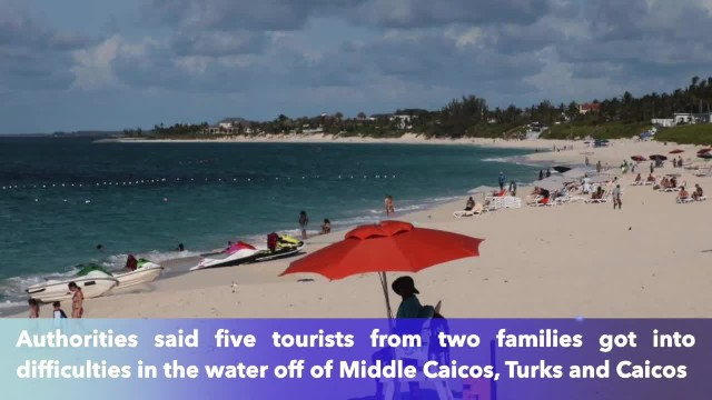 Couple drowns while on vacation in Turks and Caicos, teen daughter survives