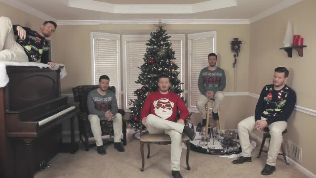 Man In Red Sings Christmas Favorite But Soon Special Twist Brings It To Whole New Level