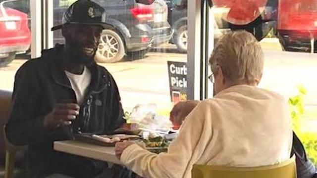 Strangers enjoying a meal together at McDonald's touches people's hearts around the world