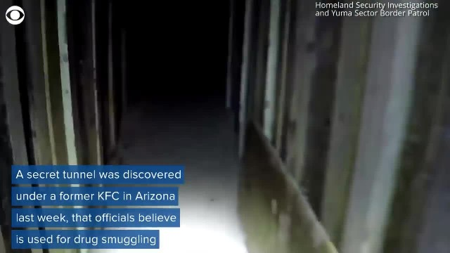 They found a secret tunnel underneath this KFC, and now homeland security is getting involved