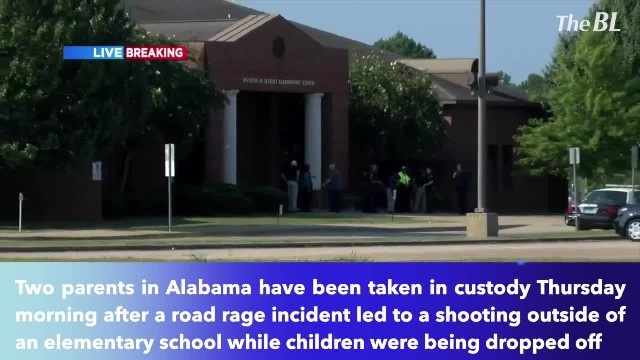 Two parents in custody after road rage shooting outside Alabama elementary school