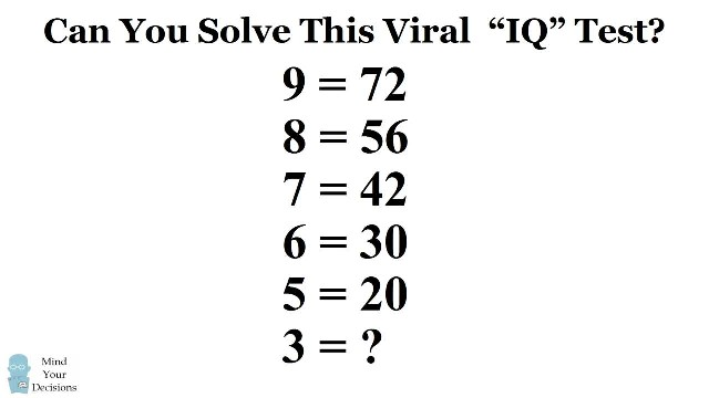 Can You Solve The Viral 9 = 72 Puzzle The Correct Answer Explained