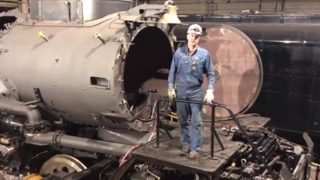 Steam update: big boy's restoration nearly complete