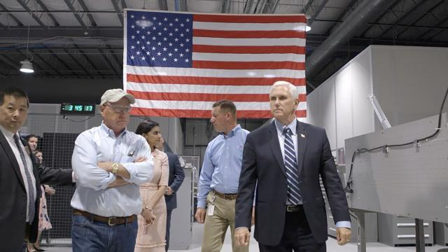 "Vice President Pence: ""The great American comeback has begun"""