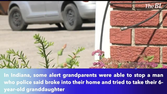 Man tried to abduct 6-year-old girl from home but grandpa wasn't going to let that happen