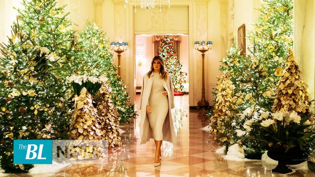 Melania Trump, White House unveils 'Spirit of America' 2019 Christmas display