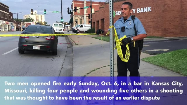 4 killed, 5 wounded in overnight shooting at Kansas bar, police said