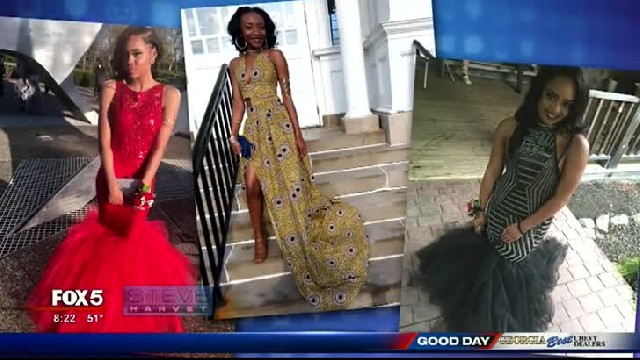 Homeless teen grows up in shelters, then makes his date a prom dress that turns his life around