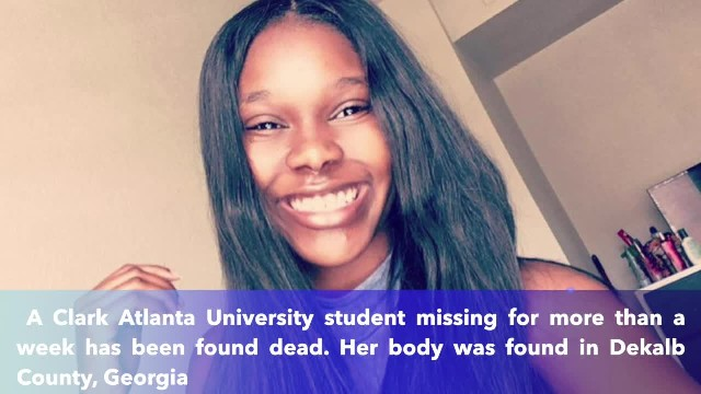 Update- Missing Clark Atlanta University student found dead
