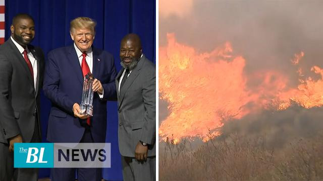 TheBL News in 3 - Trump takes a victory lap on criminal justice reform - Thousands told to evacuate