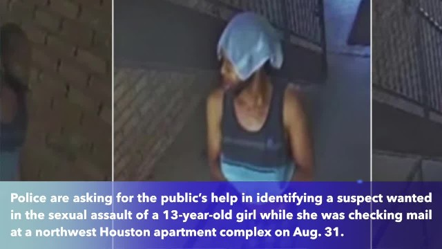Texas police searching suspect sexually assaulted a 13-year-old girl in broad daylight