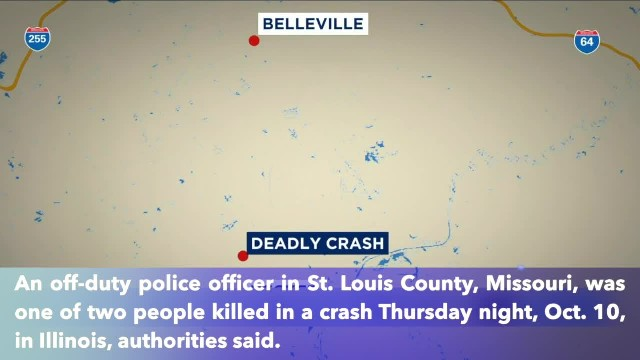 Off-duty Missouri officer one of 2 killed in crash in Illinois